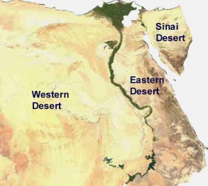 Deserts Our Egypt - Where is egypt
