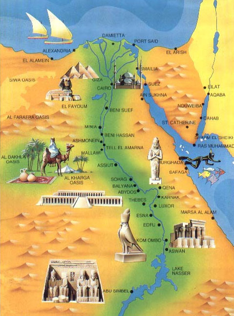 Egyptian Sights | Our Egypt