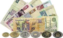 The Egyptian Pound Is Official Currency For Arab Republic Of Egypt Divided Into 100 Piasters Iso Code