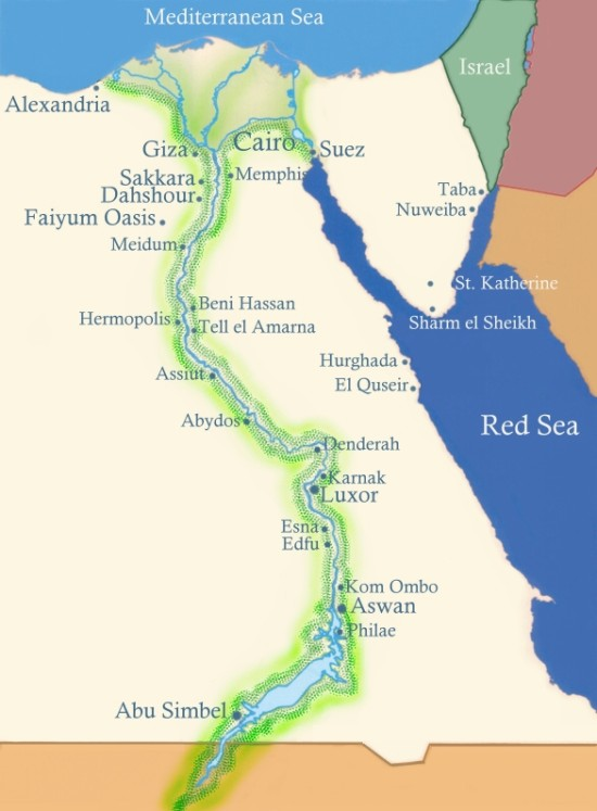 Nile Valley  Our Egypt